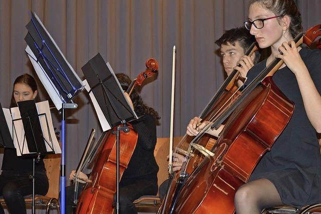Viel Beifall für junge Musikschüler