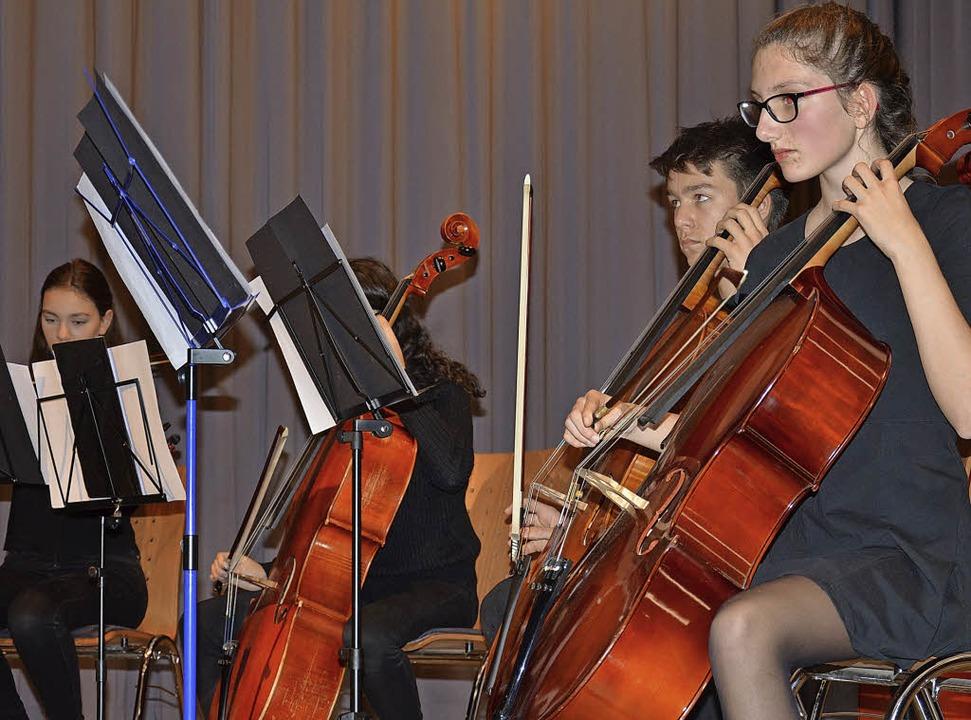 Durchaus anspruchsvolle Stücke präsent...ie Musikschüler im Haus der Begegnung.  | Foto: Weber-Kroker