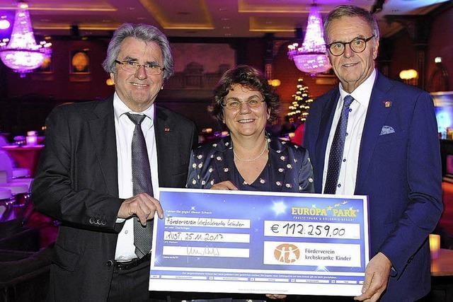 Benefiz-Gala im Europa-Park bringt weit über 100.000 Euro für Freiburger Förderverein