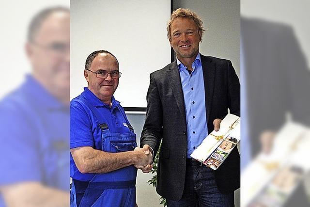 Die Gießler GmbH ehrt zwei besondere Mitarbeiter