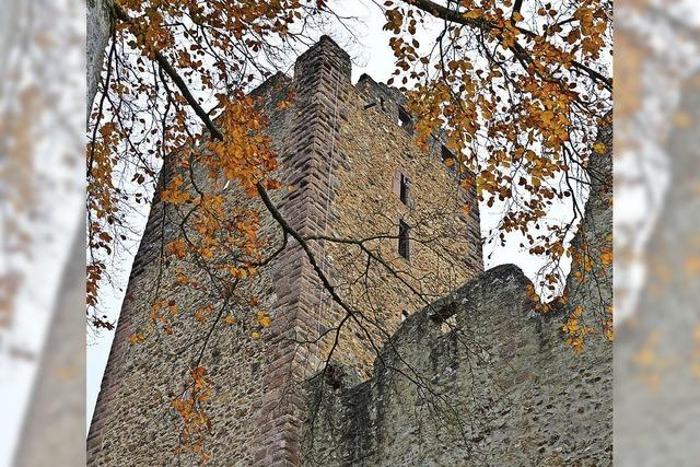 Kastelburg in alter Pracht