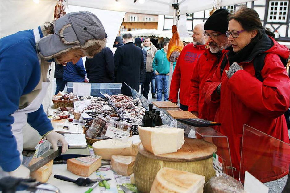 Der Katharinenmarkt in Seelbach (Foto: Heidi Foessel)