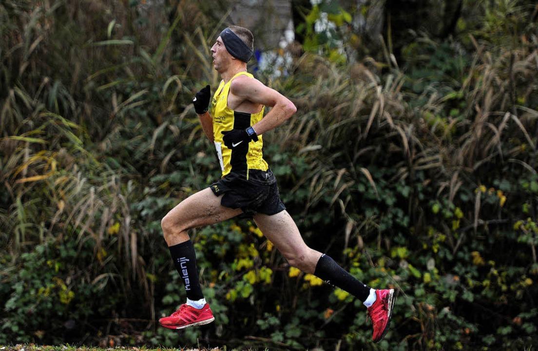 Marcin Blazinski auf dem Weg zu seinem ersten Sieg beim Geroldseckerlauf.     Foto: Pressebüro Schaller