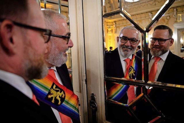 44 gleichgeschlechtliche Hochzeiten in Heidelberg