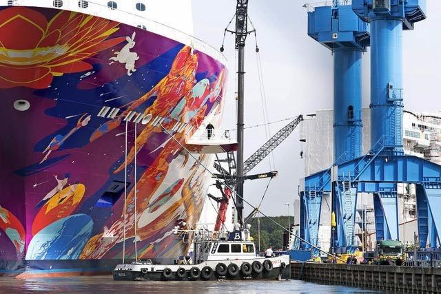 Europäischer Schiffsbau stark wie lange nicht