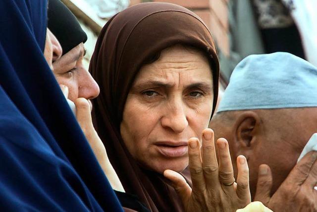 Kein Betender entkam unverletzt auf der Sinai-Halbinsel