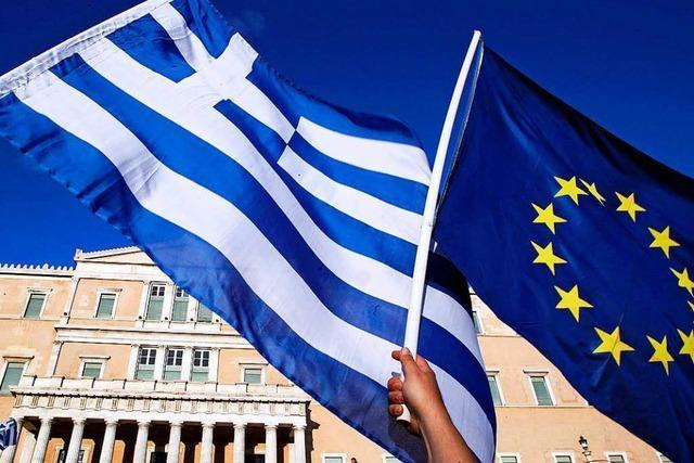 Athen muss sich weniger Geld leihen