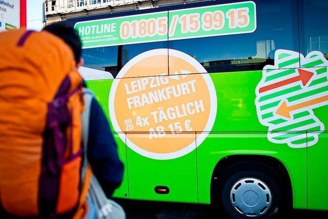Bei Deutscher Bahn und Flixbus werden die Plätze knapp