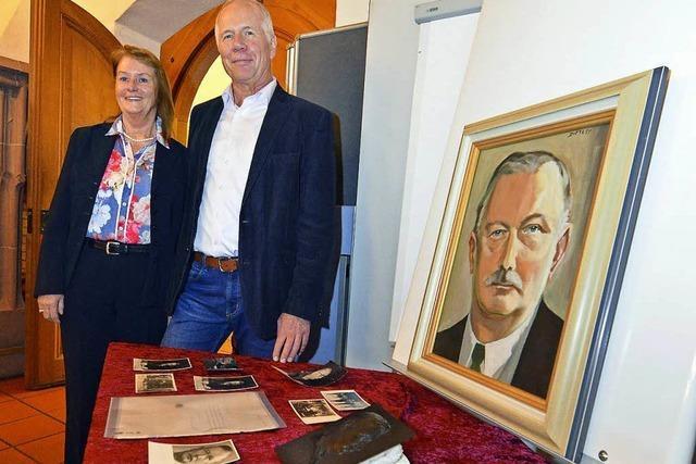 Briefe und Gemälde von Reichskanzler Joseph Wirth gehen an Stiftung