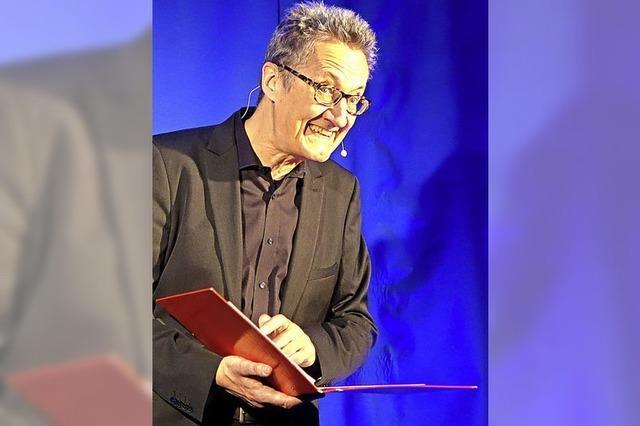 Holger Paetz gibt am kommenden Wochenende zwei Vorstellungen im Buch und Café am Andelsbach in Laufenburg