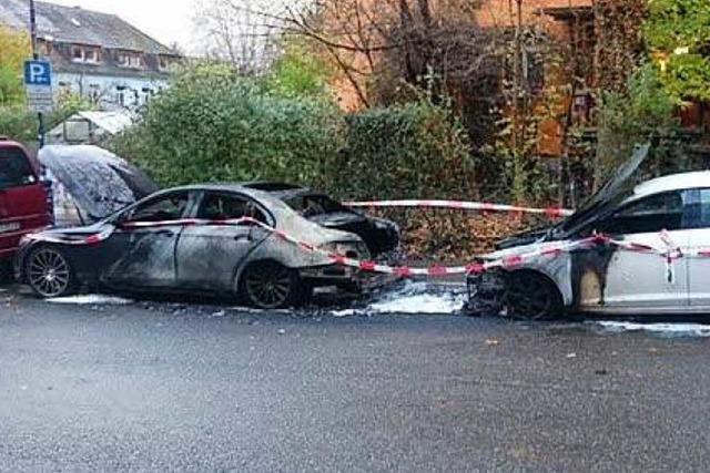 Polizei vermutet Brandanschlag auf den Mercedes von SC-Profi Georg Niedermeier