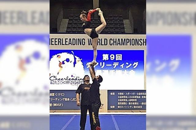 Cheerleader-Paar aus Zell wird WM-Fünfter