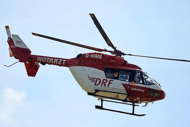 Unfall mit drei Schwerletzten auf der B 3 bei Hohberg