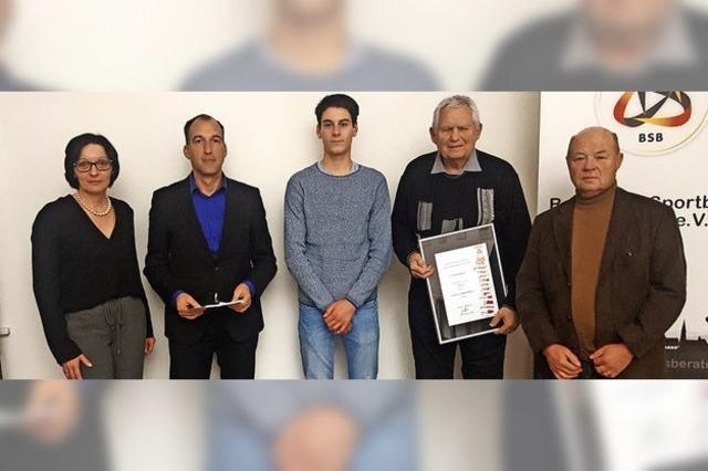Schulkooperation des FC Emmendingen ausgezeichnet