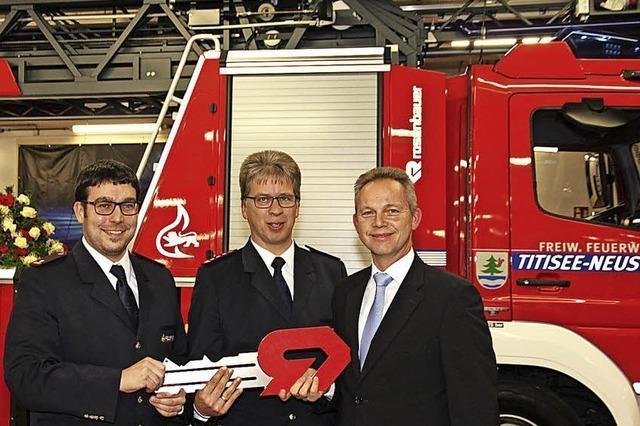 Schöne Bescherung für die Feuerwehr