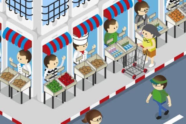 Onlineshops und Läden in der Innenstadt ergänzen sich