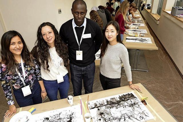 230 Studierende aus Baden-Württemberg und aller Welt treffen sich in Freiburg