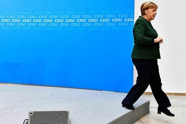 Große Koalition: Union und SPD gegen Eile