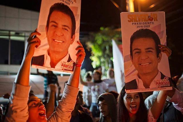 Ein Sportreporter will Honduras aus der Krise führen
