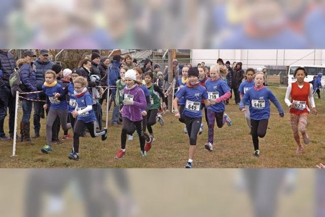 Endinger und Riegeler Läufer vorn