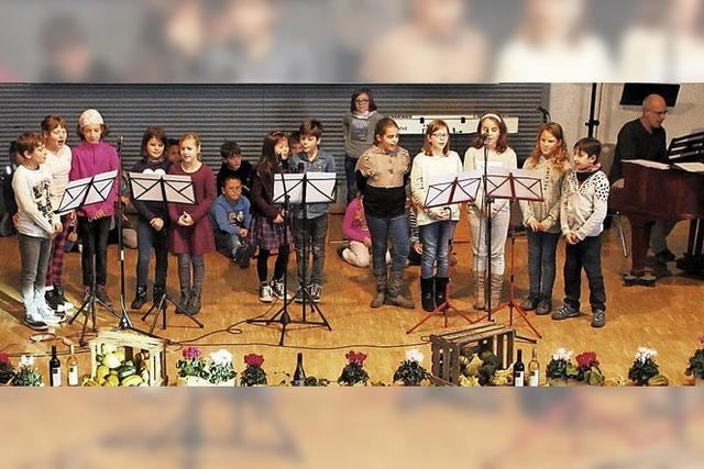 Musikalisches Dankeschön an Schilling