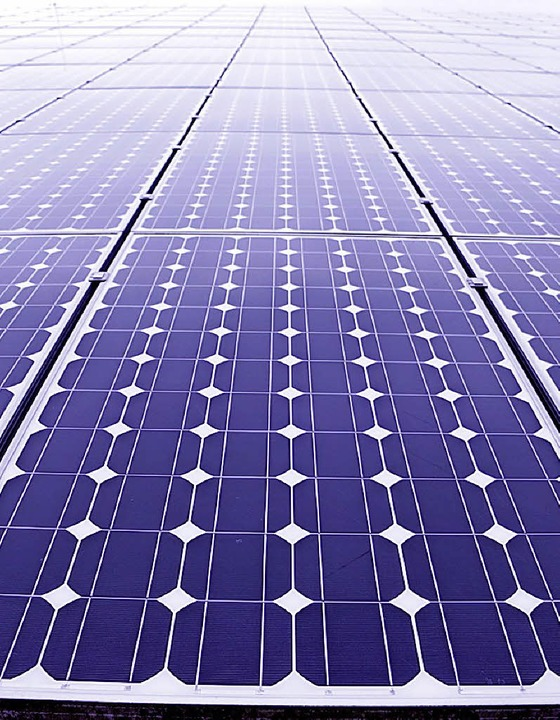 """Eine Kampagne für mehr Solarenergienut...cken"""" im Breitbandnetz passiert.    Foto: DPA"""