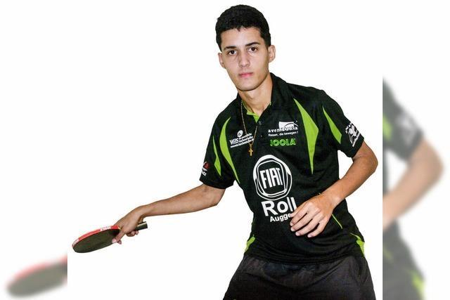 TTV-Mitglied Carlos Hernandez ist kubanischer Nationalspieler im Tischtennis