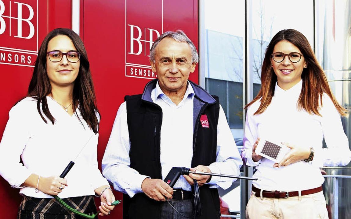 Geschäftsführer und Firmengründer Rudo...4 in der Geschäftsführung tätig ist.    | Foto: B+B
