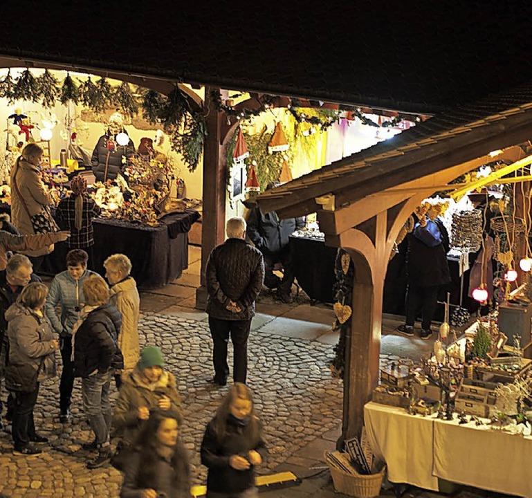 Mehr als nur ein Weihnachtsmarkt: Weihnachtserlebnis Kirchzarten   | Foto: Archivfotos: Markus Donner/JumediaPrint