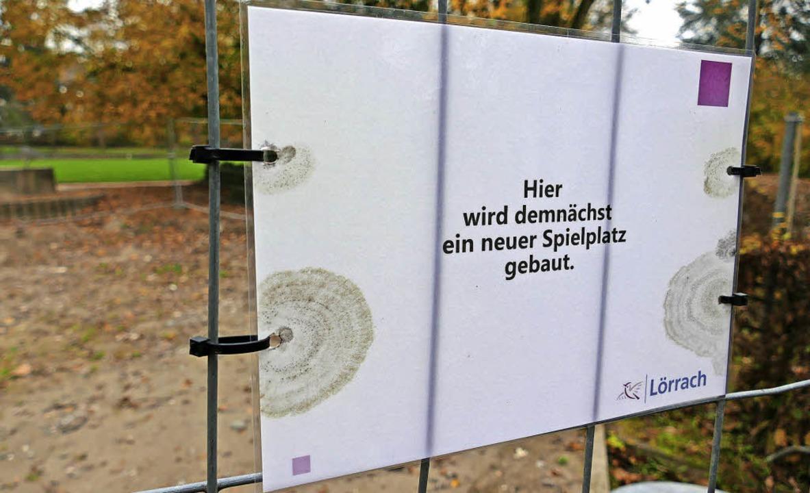Erst im Frühjahr können Kinder den Spi...enfelspark wieder vollständig nutzen.   | Foto: Jürgens