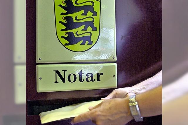 Die Notare ziehen aus dem Amtsgericht aus