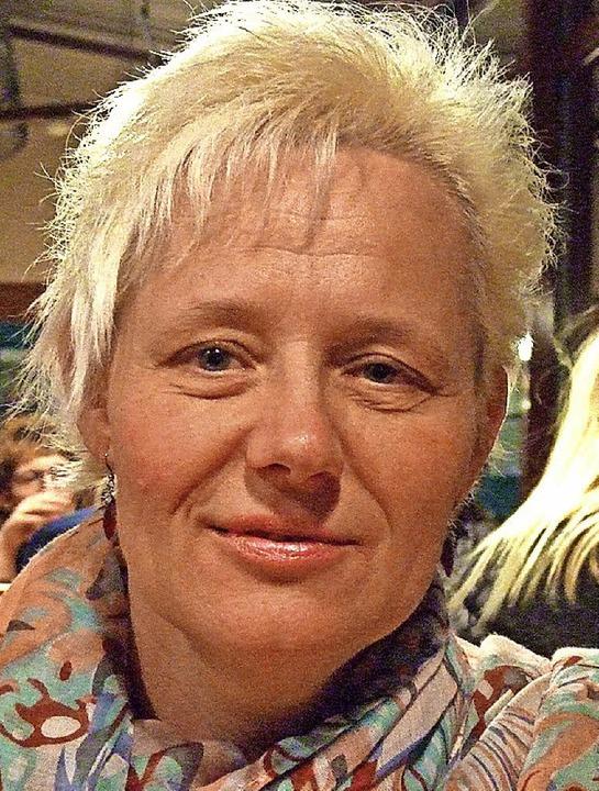 Marina Jörger SHG Neurodermitis und Psoriasiskranke  | Foto: Karin Wortelkamp