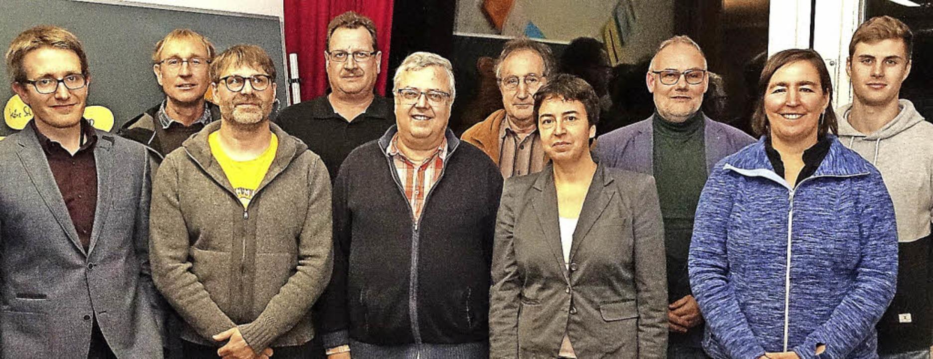 Neu gegründet: Der  Trägerverein &#822...mann (Vorsitzende) und  Felix Zerrer.     Foto: Hans-Jürgen Hege