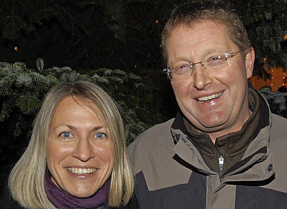 Petra und Jürgen Gempp    Foto: Hannes Lauber