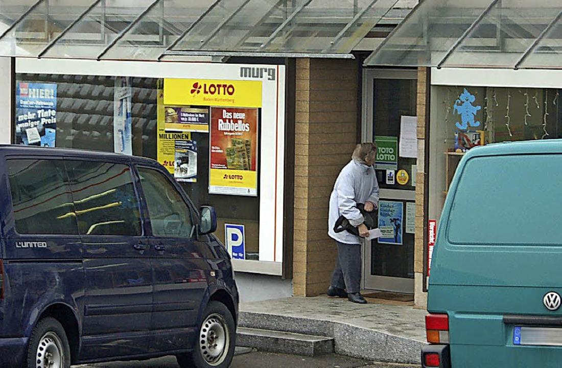 Nachfolgelösung gesucht: die Postagentur in Murg     Foto: Winfried Dietsche
