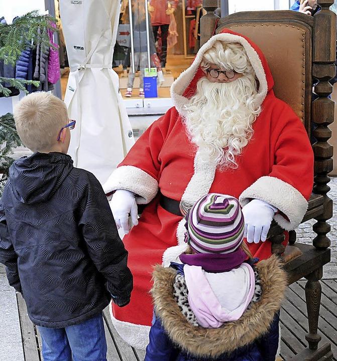 Der Nikolaus ist wieder da.   | Foto: W. Künstle