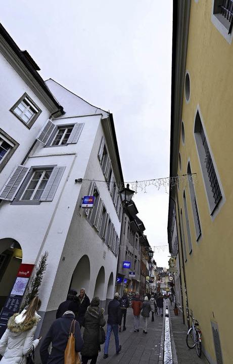 Die FWTM zieht nächstes Jahr aus dem G...) gegenüber dem Schwarzen Kloster aus.    Foto: Michael Bamberger