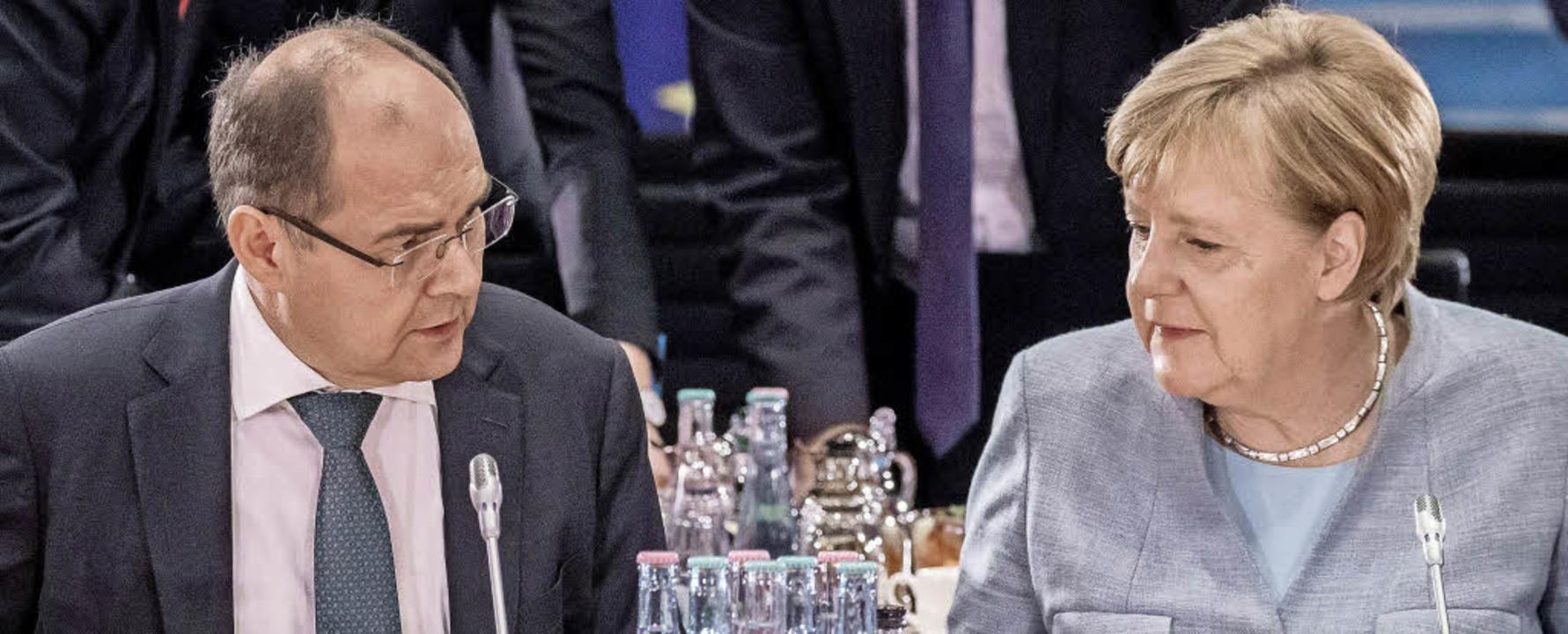 Handelte sich jetzt eine Rüge der Kanzlerin ein: Christian Schmidt.    Foto: dpa