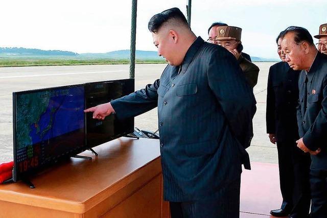 Erneute Provokation: Kim Jong Un startet wieder Rakete
