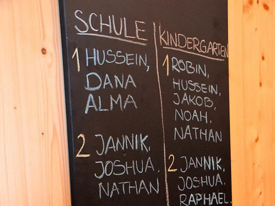 die Kinderbetreuung sowie...    Foto: Gerhard Walser