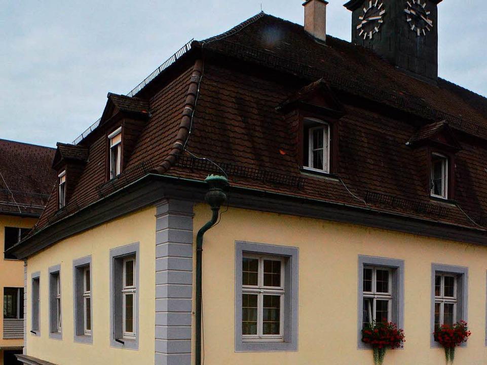 …der barrierefreie Umbau  des Alten Rathauses.    Foto: Gerhard Walser
