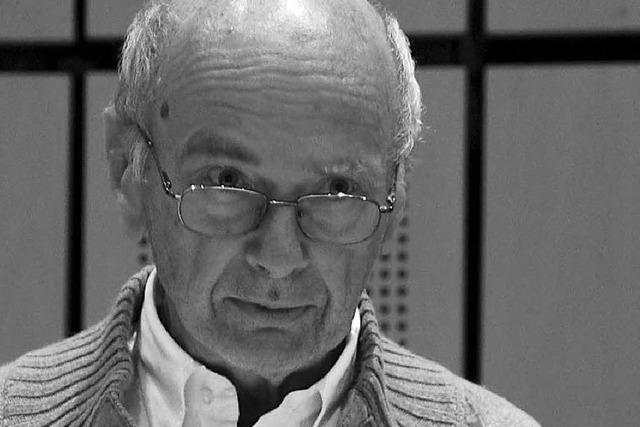 Der Freiburger Soziologe Baldo Blinkert ist gestorben