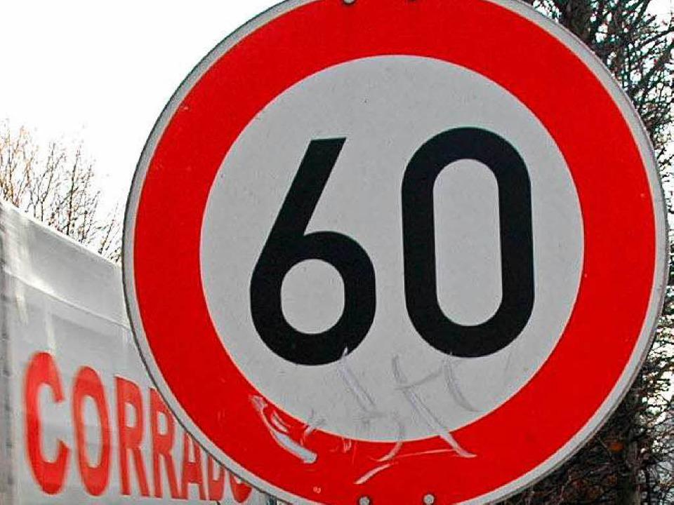 Im Tempo 60-Bereich waren von 3200 Autos 700 zu schnell unterwegs.  | Foto: Ingo Schneider