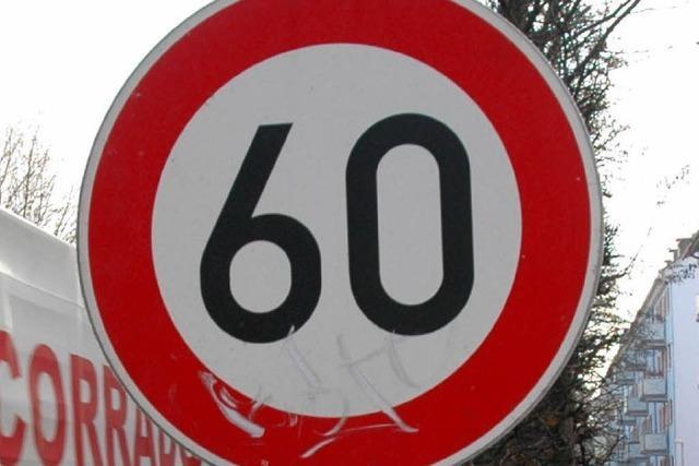 157 Fahrverbote nach Tempokontrolle auf der A 5