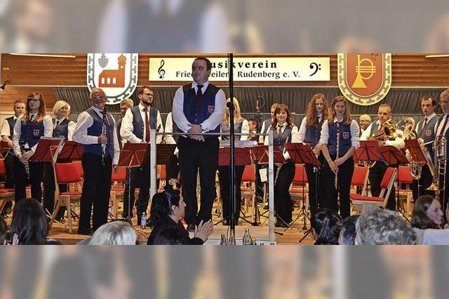 Mit dem Musikverein Friedenweiler/Rudenberg in Friedenweiler