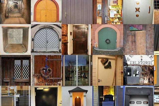 Wohin führen diese Türen?