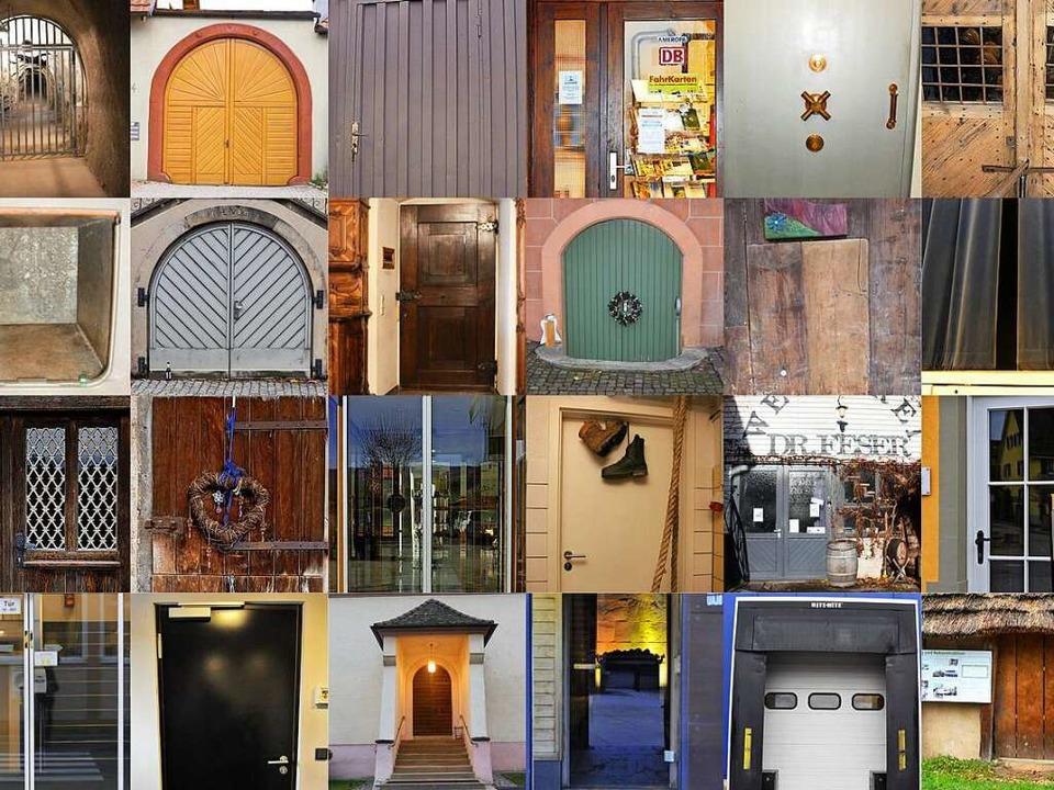 Wir öffnen für Sie im Dezember Türen, die sonst oft verschlossen bleiben.  | Foto: Collage BZO