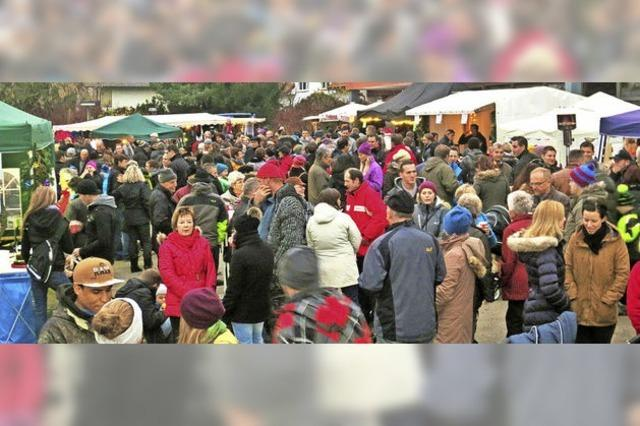 In Niederhof ist 21. Weihnachtsmarkt