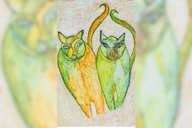 Die Taschen mit den Katzen