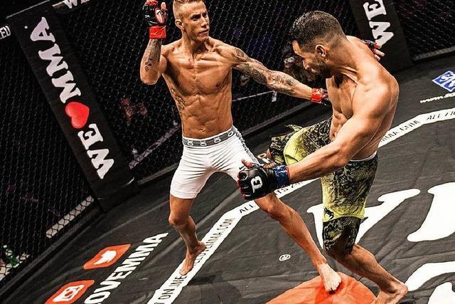 Björn Schneckenburger aus Görwihl ist Mixed Martial Arts-Trainer